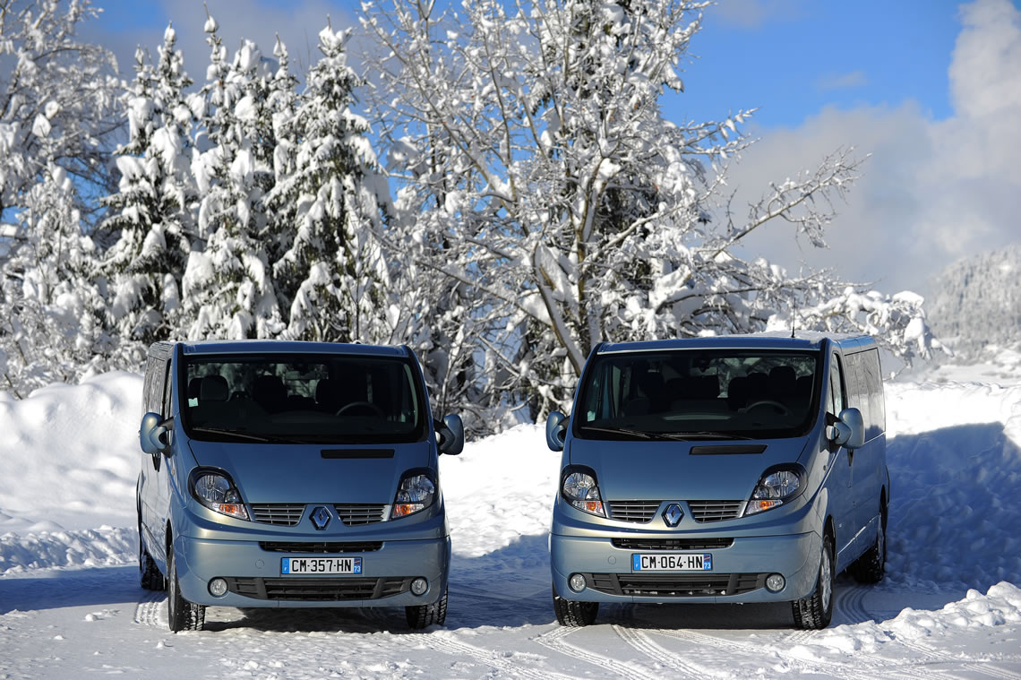 Luxury Ski Transfers for Groups